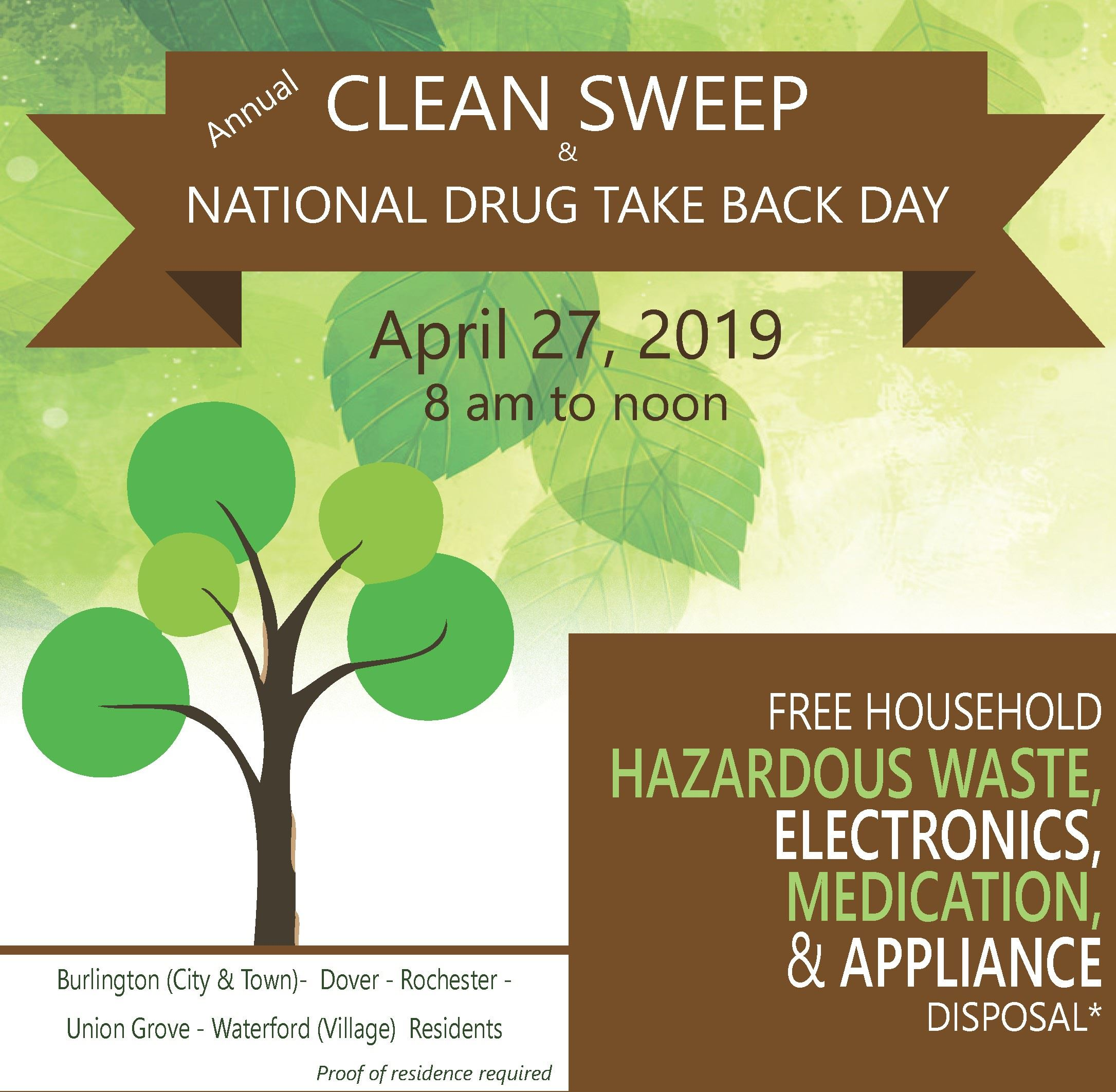 Clean Sweep 2019 - newsflash