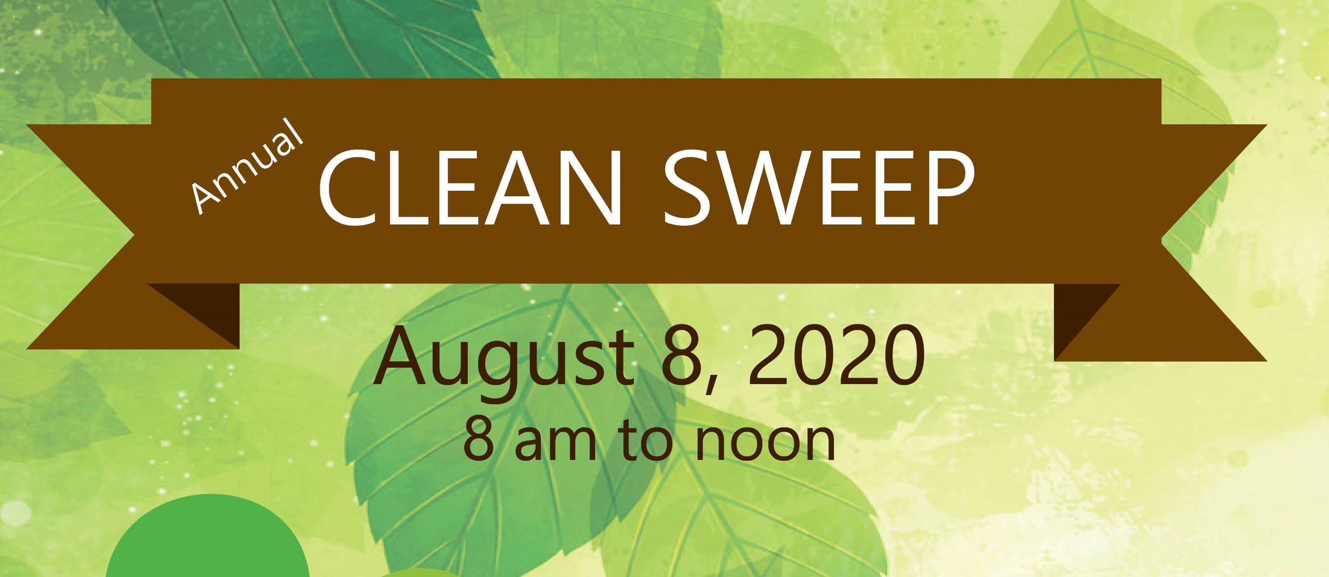 Clean Sweep 2020- header